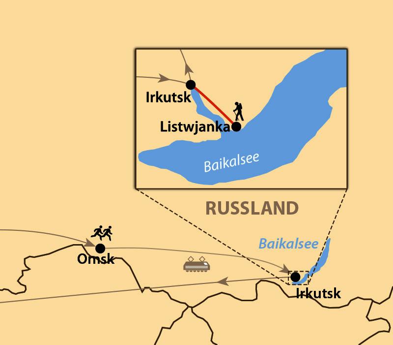 Russland - Siberian Ice Marathon 2018/19 in Omsk || schulz sportreisen